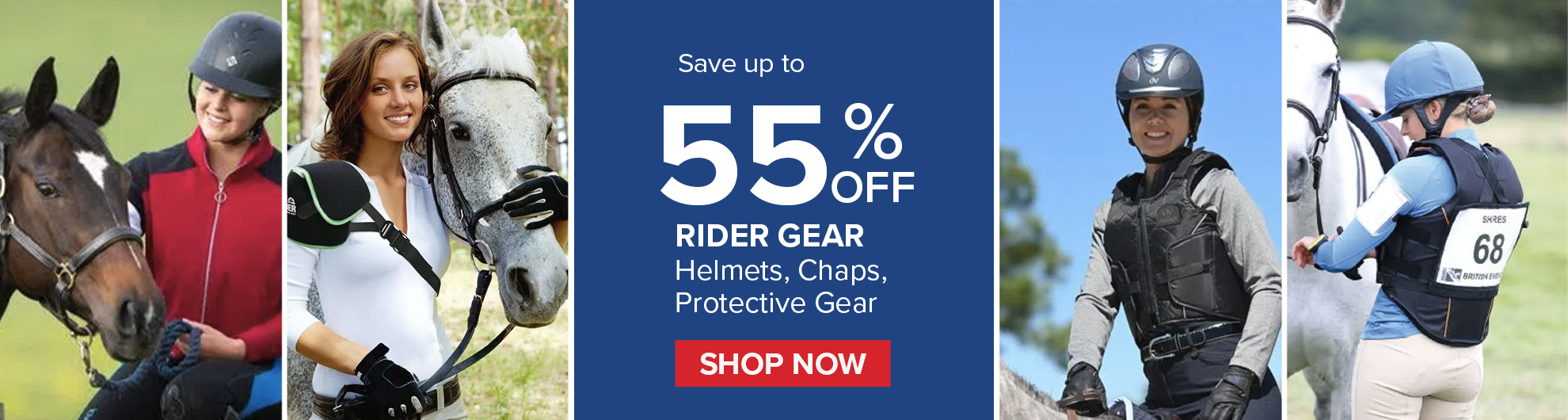Ride Gear and Rider Helmets