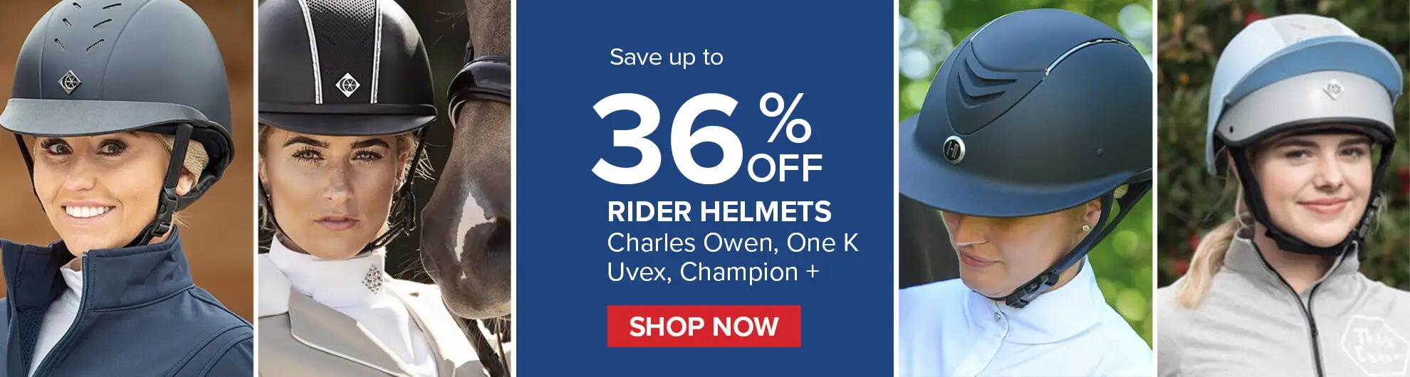 Top Equestrian Brand Riding Helmets on Bit of Britain