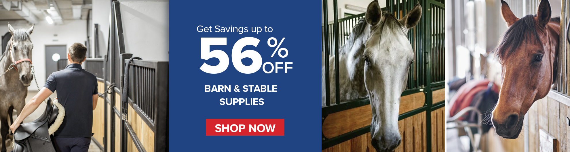 Save on Barn and Stall Supplies on Bit of Britain