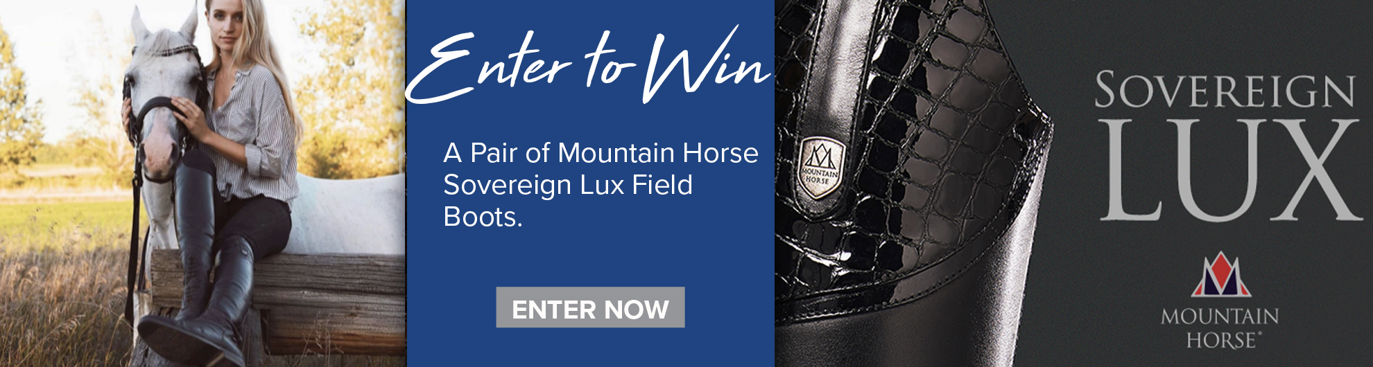Mountain Horse Sovereign LUX Field Boots