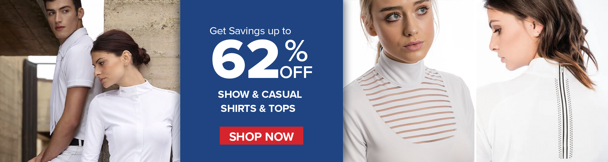 Show & Casual Shirts from Top Equestrian Brands