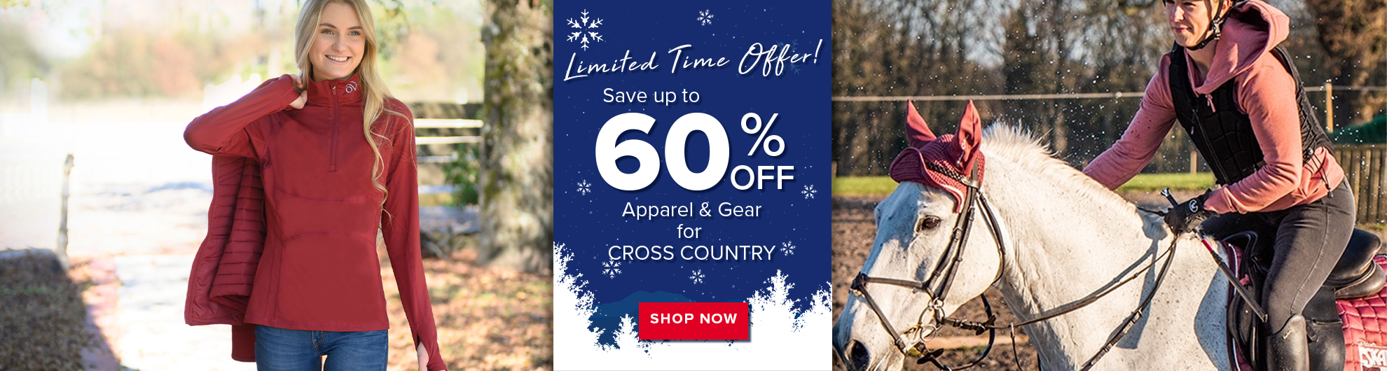 Christmas Clearance - XCountry