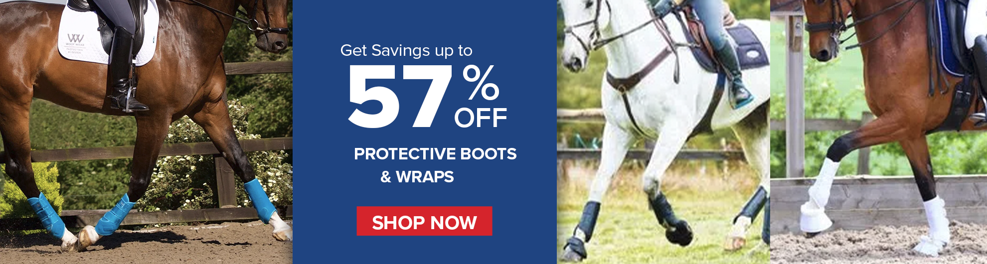 Save on Protective Boots & Wraps on Bit of Britain.